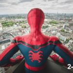 Spider-Man: Homecoming stunt double Chris Silcox wears the world